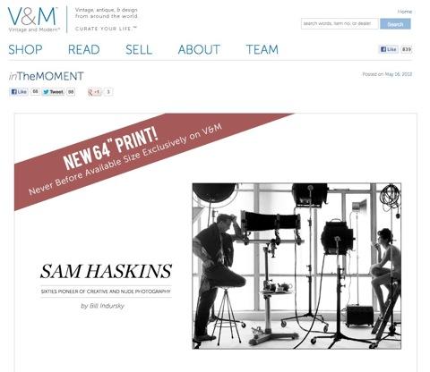 VandM SS Sam Haskins Sale 01