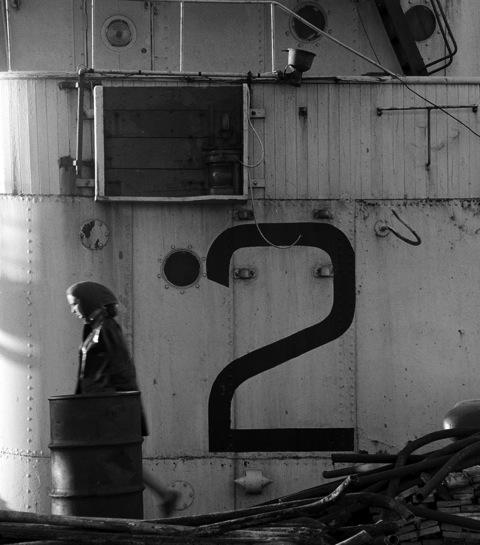 November Girl Tall 2 Cape Docks by Sam Haskins